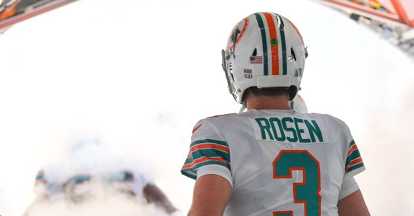 Dolphins looking to Josh Rosen to provide spark to struggling offense