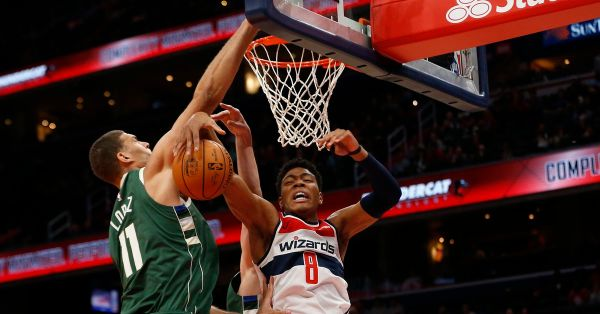 Recap: Wizards fall to Bucks, 115-108
