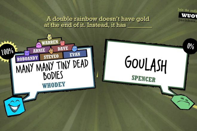 ss_b43742be0818c5c18a6415f51ac4d2e383aa732f.1920x1080.0 Quiplash, one of the best party games ever, is free on Steam this weekend | The Verge
