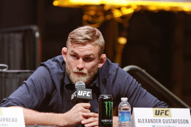 Who will Alexander Gustafsson fight next?