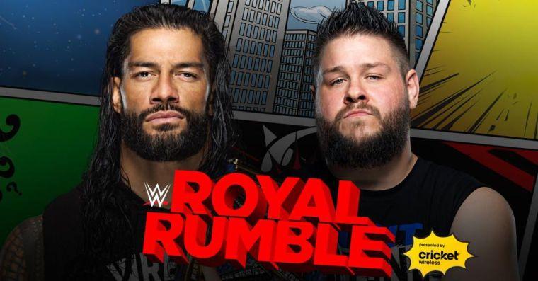 WWE Royal Rumble 2021 match card, rumors