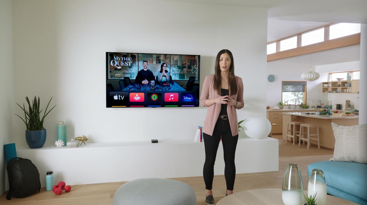 Apple TV chip A12 bionic