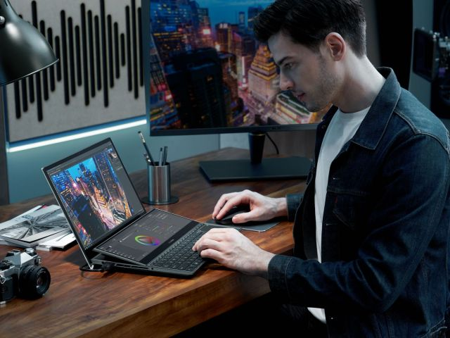 Asus' 2021 laptop line includes two new dual-screen ZenBooks - The Verge