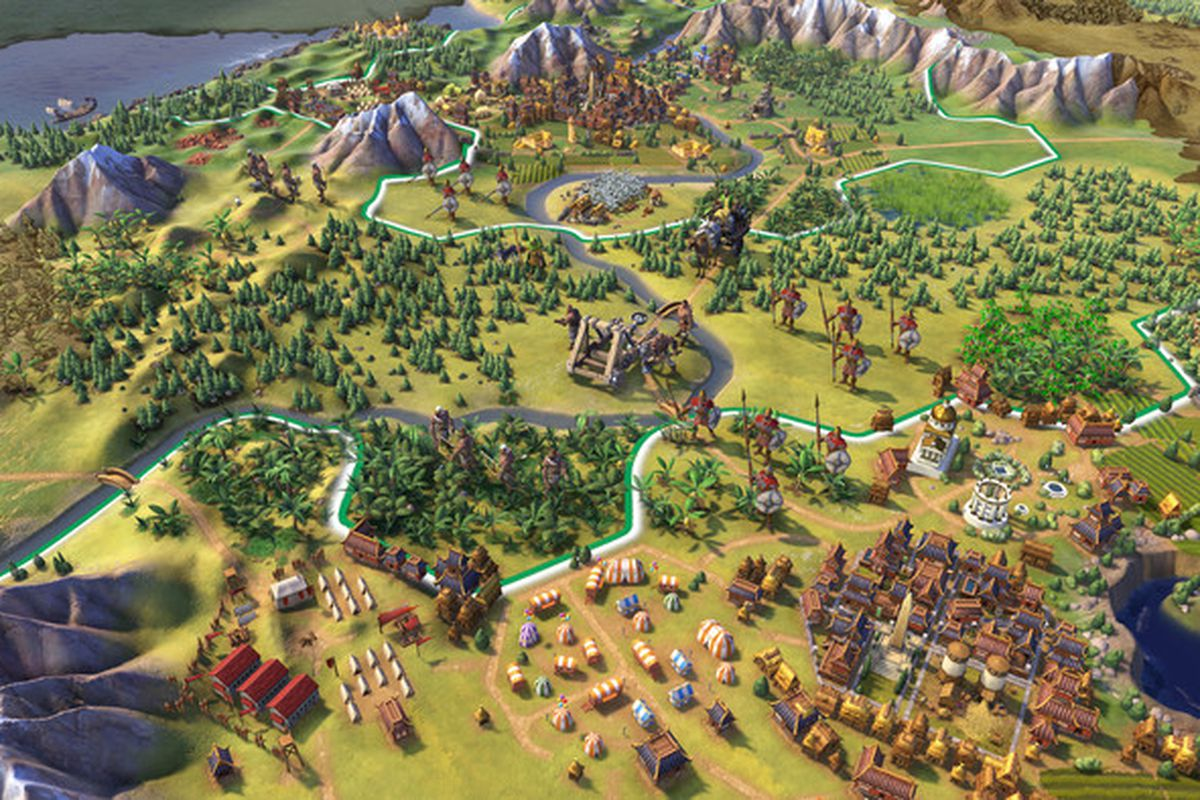 Civilization 6 on iPad is a marvel   Polygon The iPad version of Civilization 6  Firaxis Games Aspyr Media