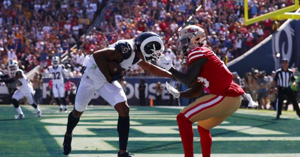 Rams trade Marcus Peters to Ravens