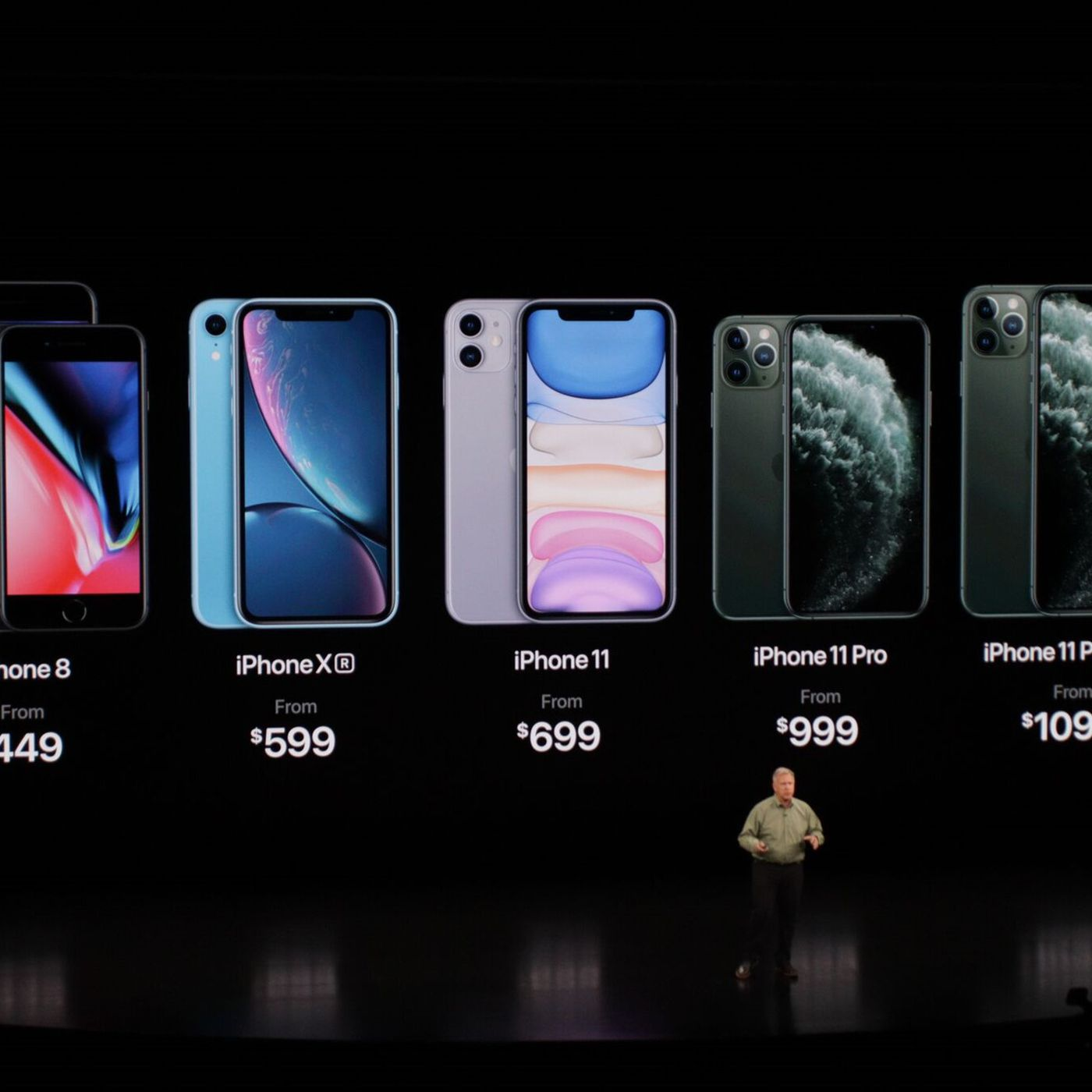 The Iphone 11 Pro And Pro Max Price 699 999 And 1 099