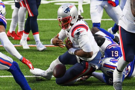 Cam Newton's reaction to his fumble against the Bills? 'Unacceptable' - Pats Pulpit