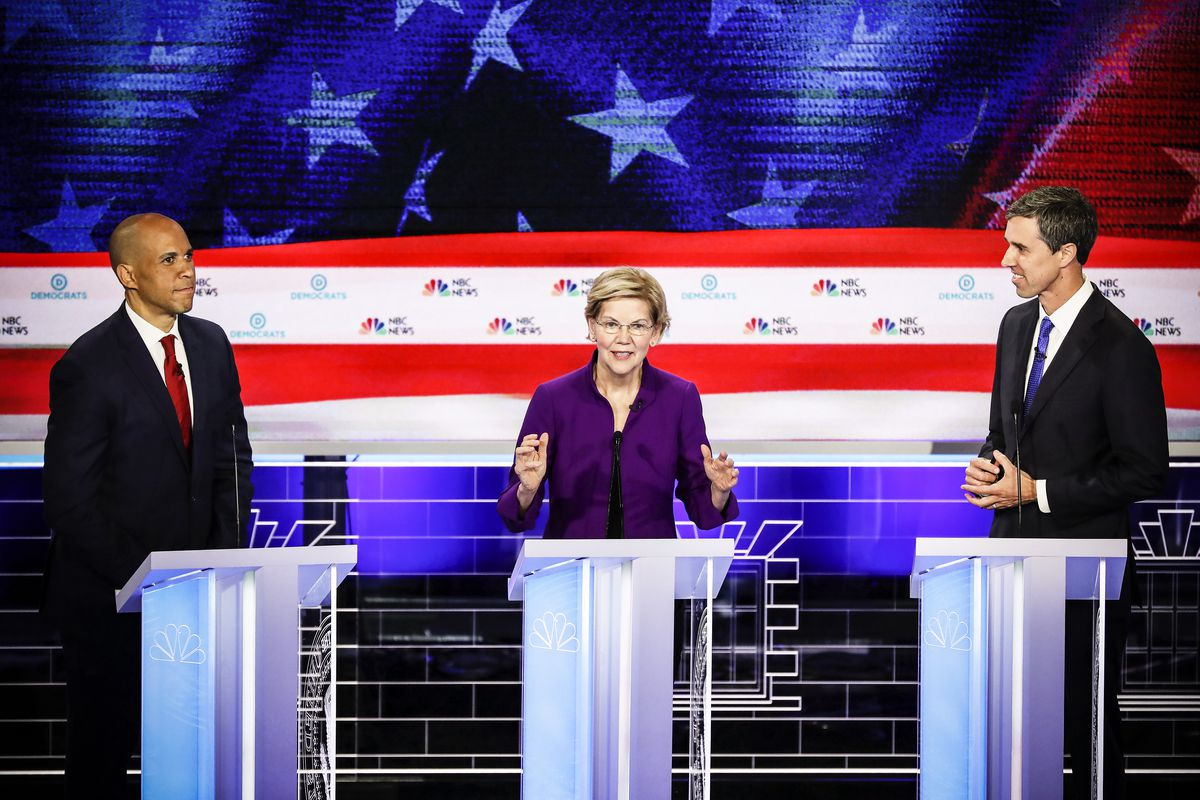 Democratic Debate Women Candidates On Average Spoke