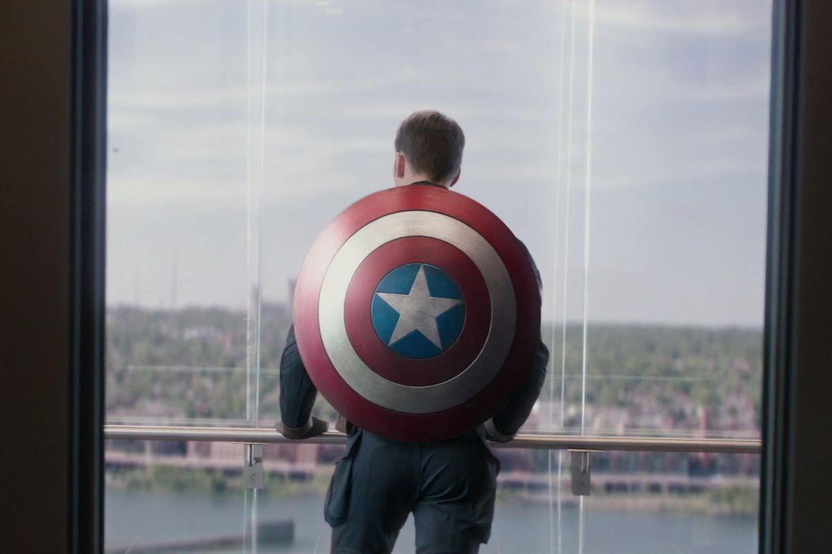 Avengers Endgame Elevator Scene Is A Captain America