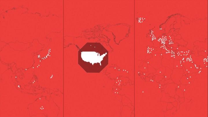 Bases around the world
