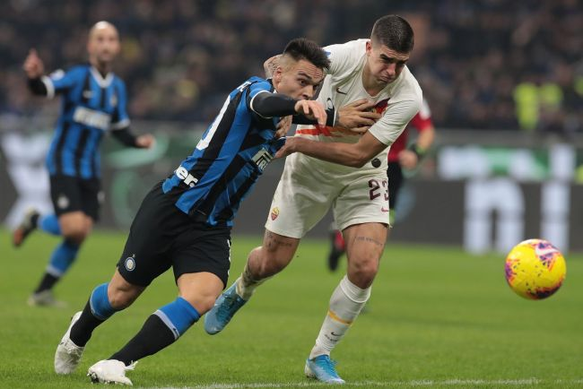 Image result for photos from inter vs roma