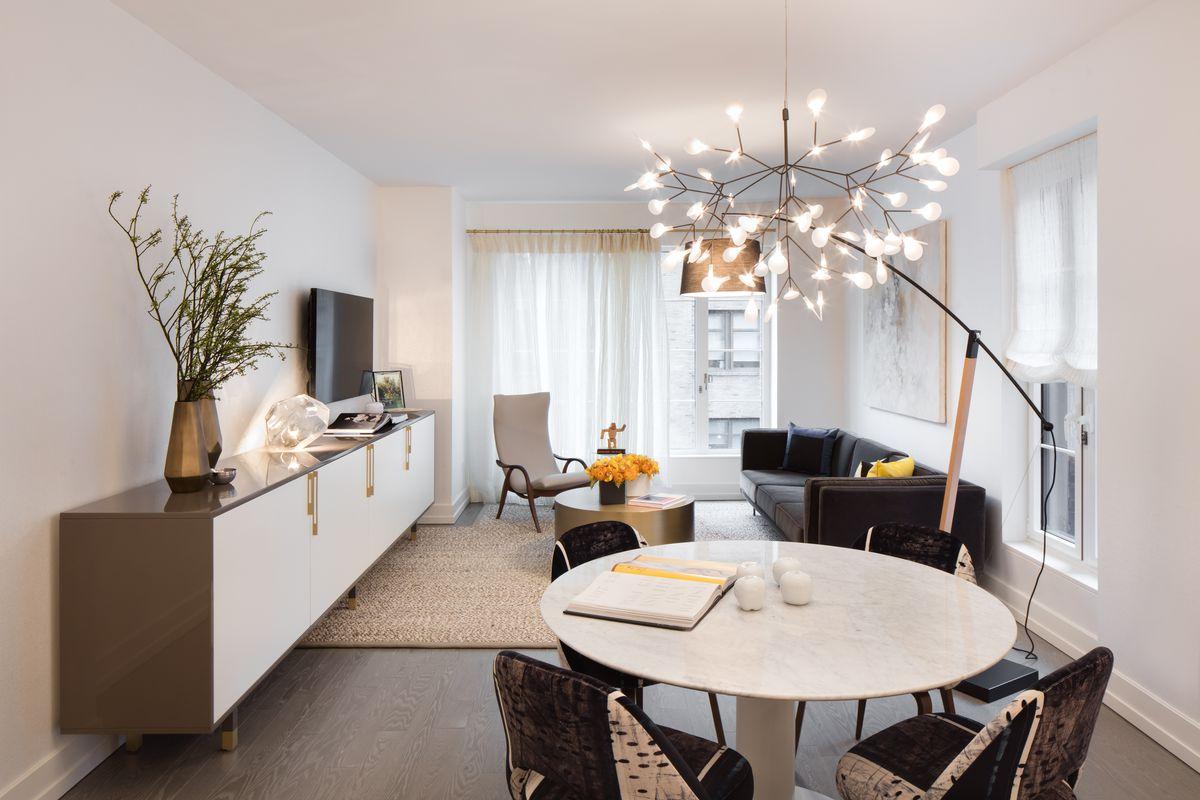 Extells Cushy Hudson Square Condo Shows Off Its Model