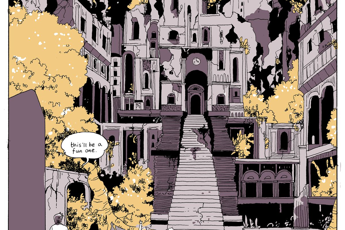 On A Sunbeam Is A Must Read Comic About Boarding Schools