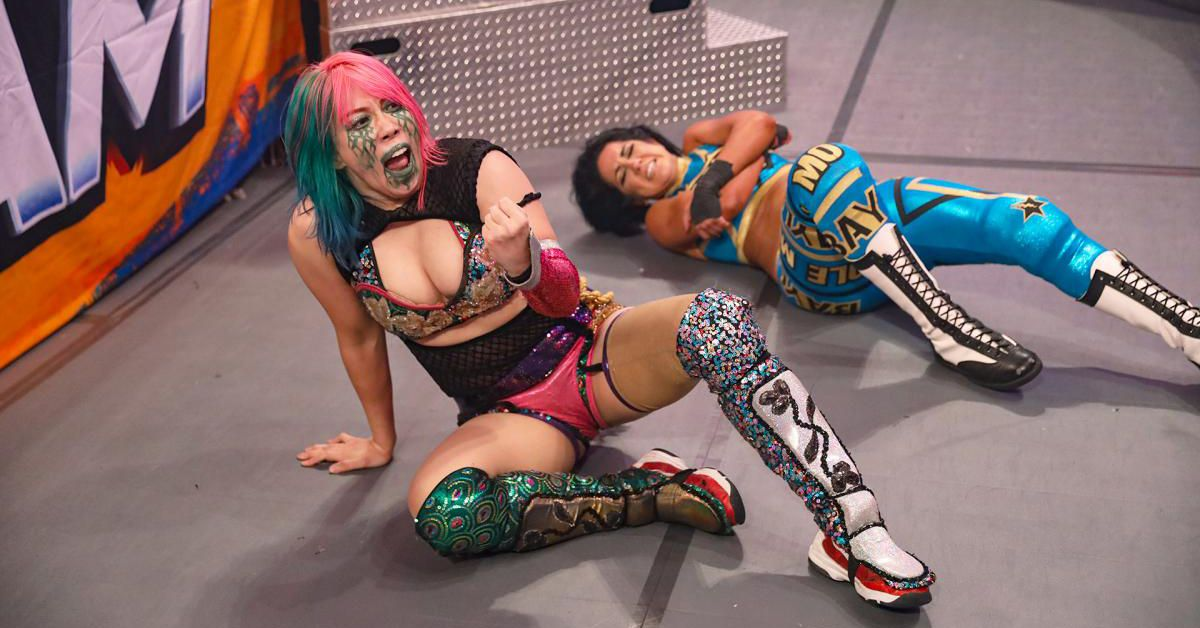 Asuka made history in 2020 as first woman to top most WWE matches list