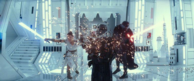 Daisy Ridley is Rey in STAR WARS: THE RISE OF SKYWALKER