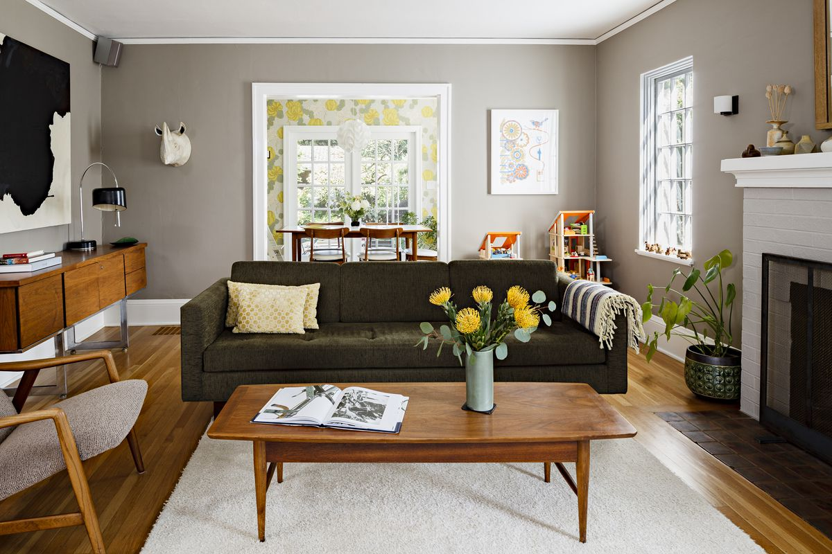 12 best beige paints   Curbed Architect Risa Boyer Leritz of Risa Boyer Architecture says that although  gray is in the name  Rockport Gray by Benjamin Moore   this color is a dark