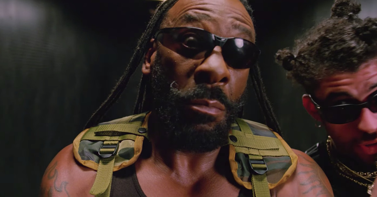 G.I. Bro returned for Bad Bunny's 'Booker T' video