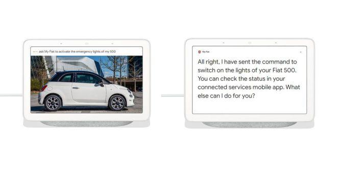 Fiat bir 'Hey Google' arabası yaptı 18
