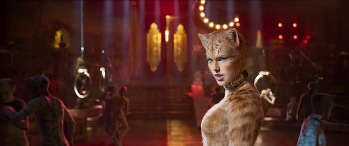 Bombalurina (Swift) casts a sultry look in Cats
