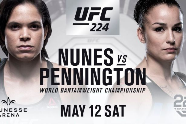 Image result for Amanda Nunes vs. Raquel Pennington
