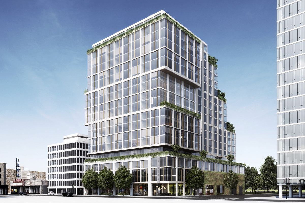 Oak Park Approves Revised Plan For 19 Story Mixed Use