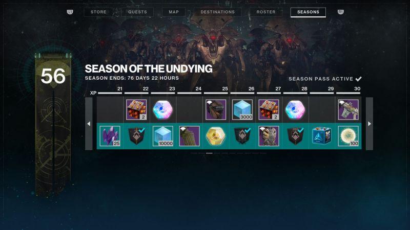 Destiny 2: Shadowkeep Season of the Undying Season Pass