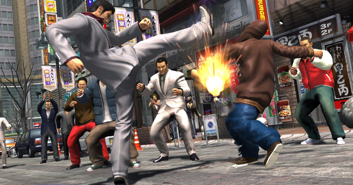 Where to start with the Yakuza series