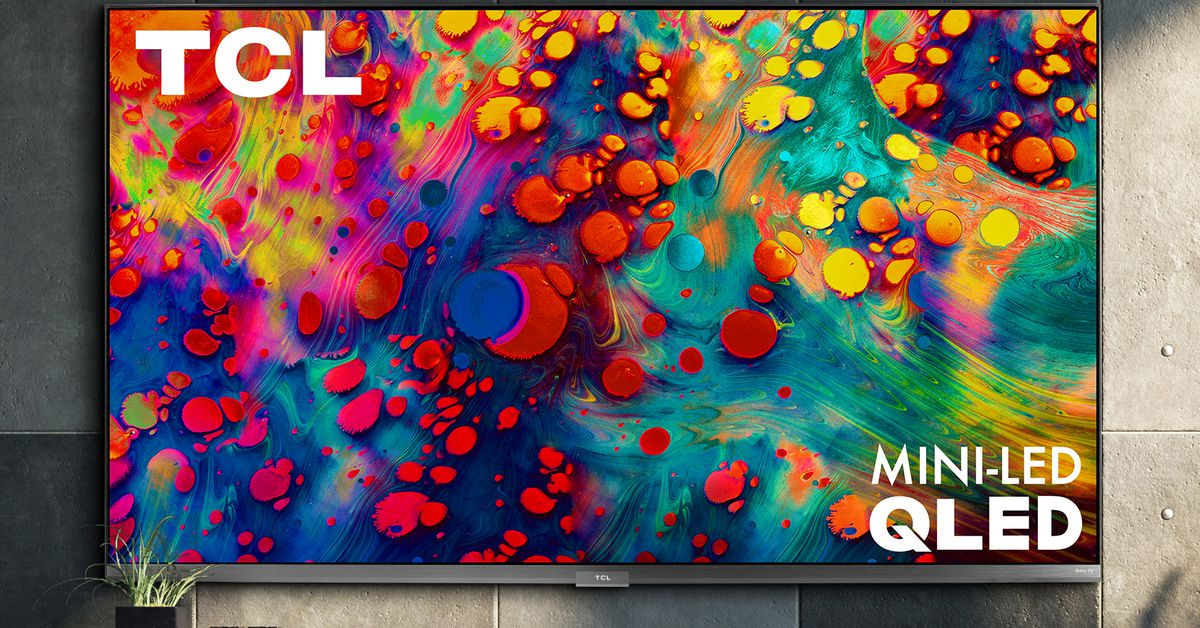 TCL's new 0 6-series 4K TV has Mini-LED backlighting and supports 120Hz gaming