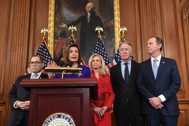 Image result for Dems Party with Impeachment Trump