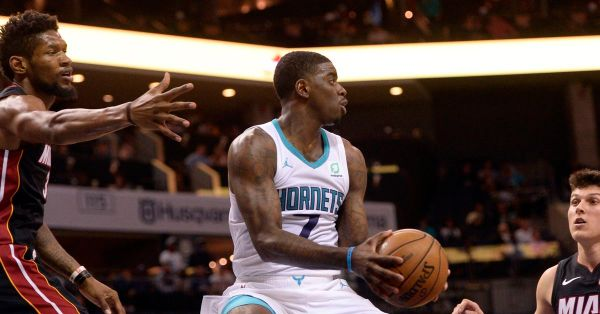 Hornets get annihilated by the Heat, somehow only lose by 14 points, 108-94