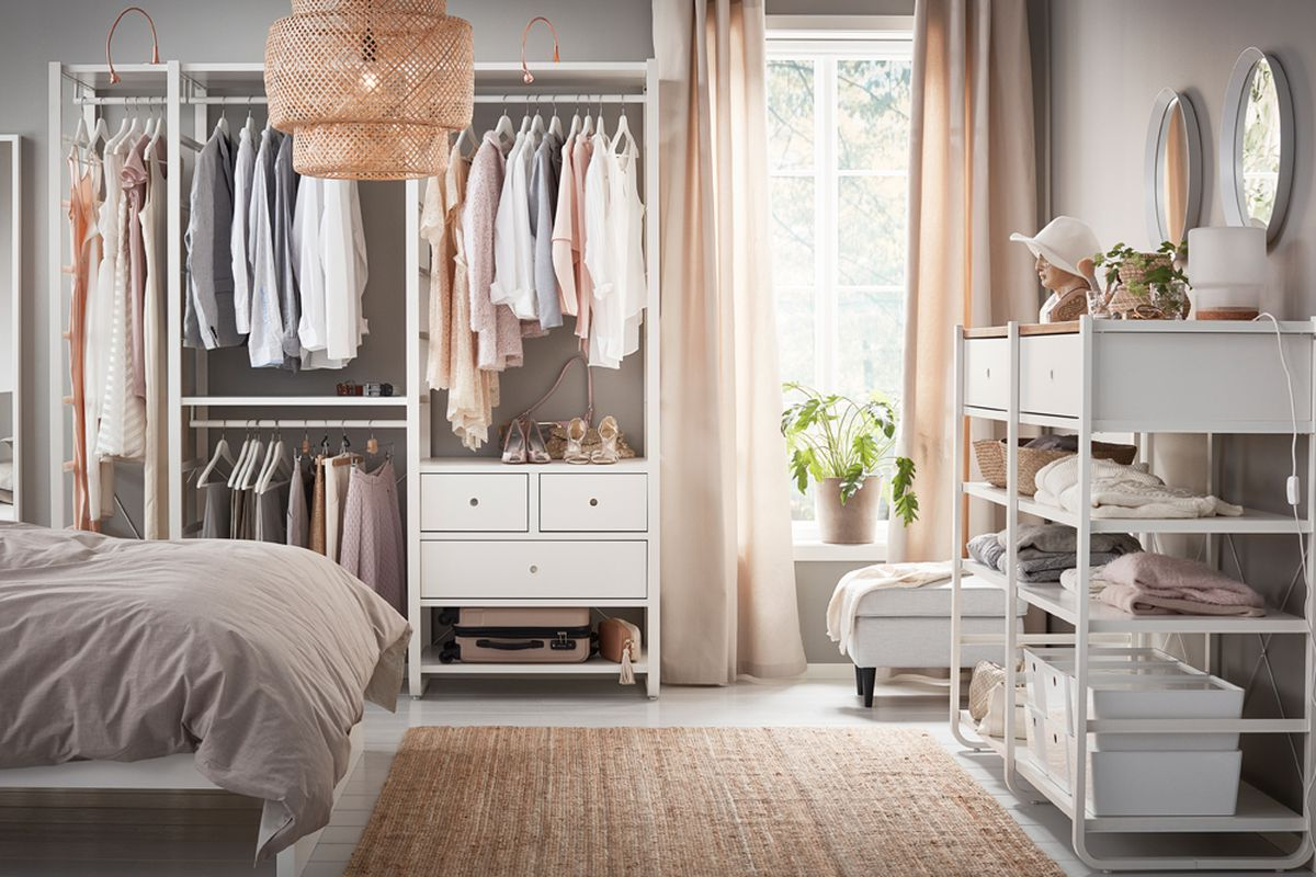 Everything You Need To Actually Organize Your Closet Racked
