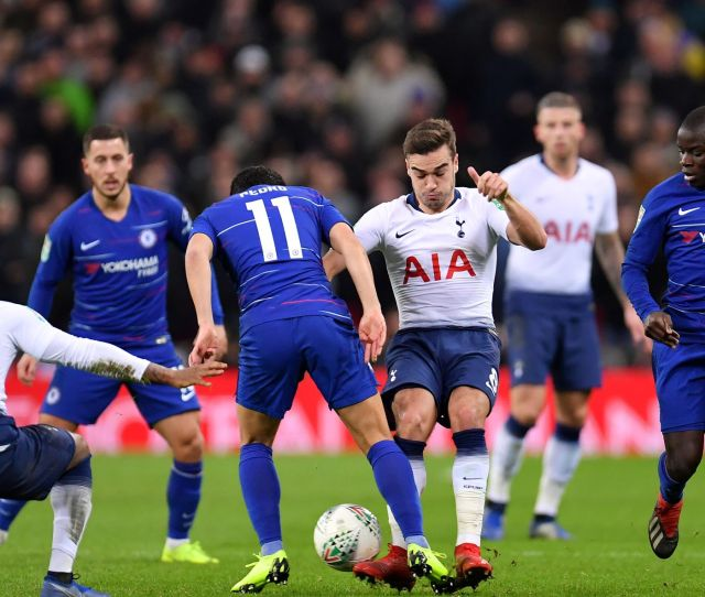 Chelsea Vs Tottenham Hotspur League Cup Semifinal Second Leg