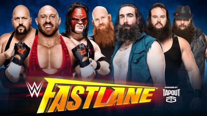 Image result for The Big Show, Kane & Ryback v The Wyatt Family fastlane