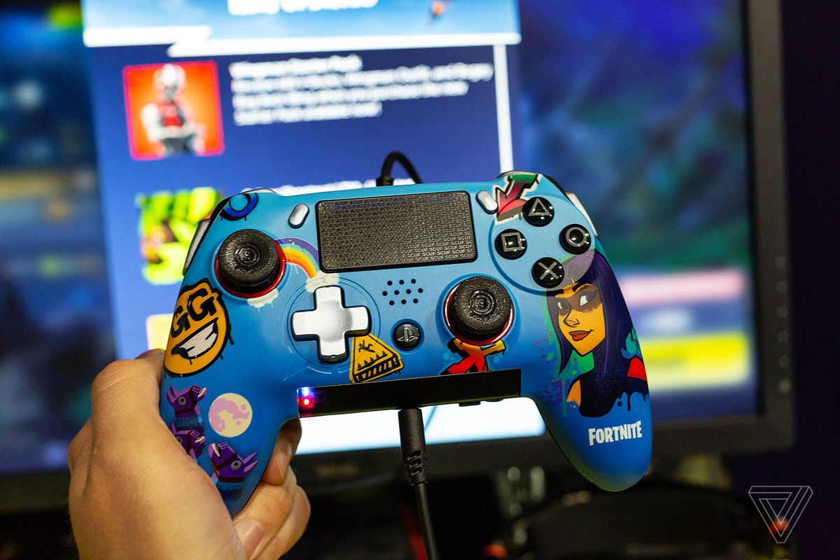 The Scuf Vantage Is A Fortnite Players Dream PS4