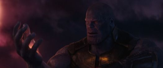 Thanos holding the Soul Stone in Avengers: Infinity War