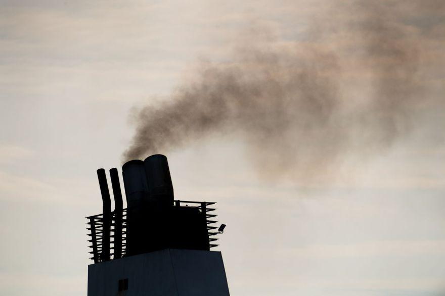 Ship exhaust
