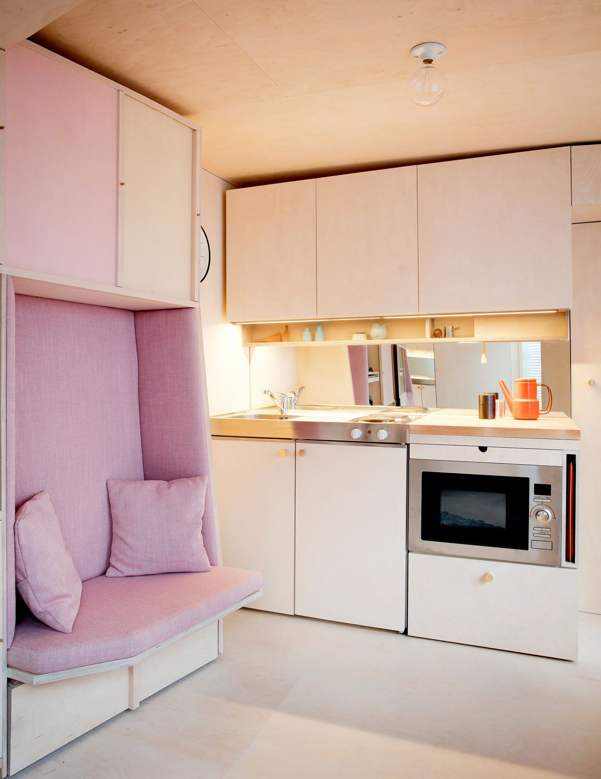 This Flexible 140 Square Foot Home Maximizes Livable Space