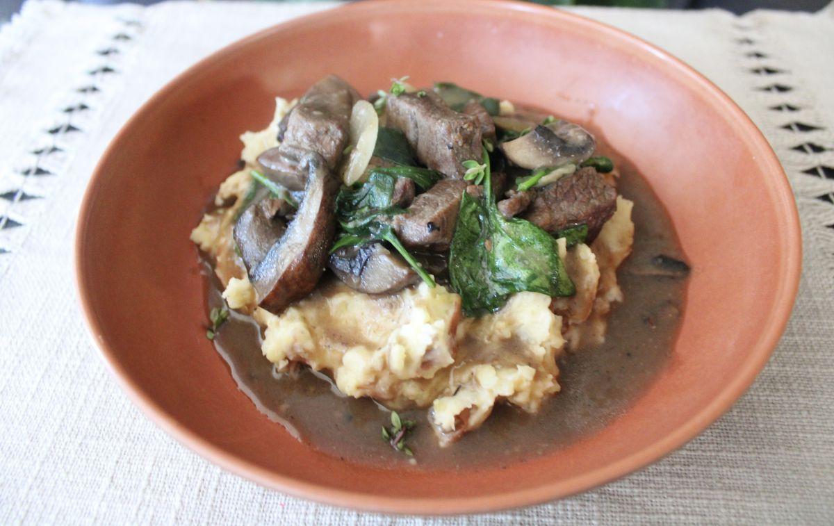 Bison chili from Wahpepah's Kitchen