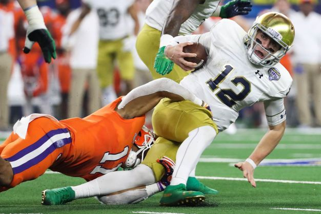 Why Notre Dame looked so hopeless against Clemson - SBNation.com