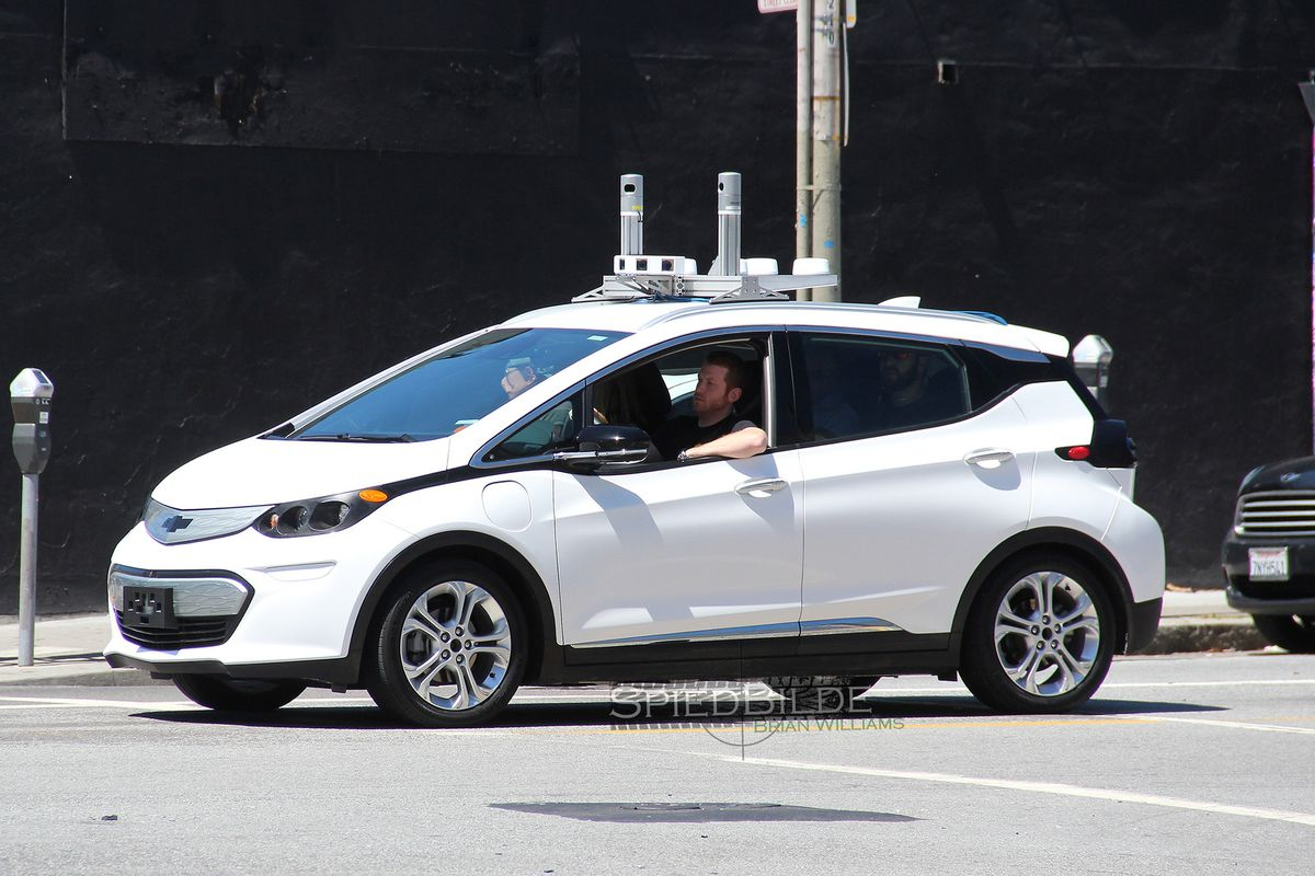 Self Driving Chevy Bolts Are On The Streets Of San Francisco The Verge