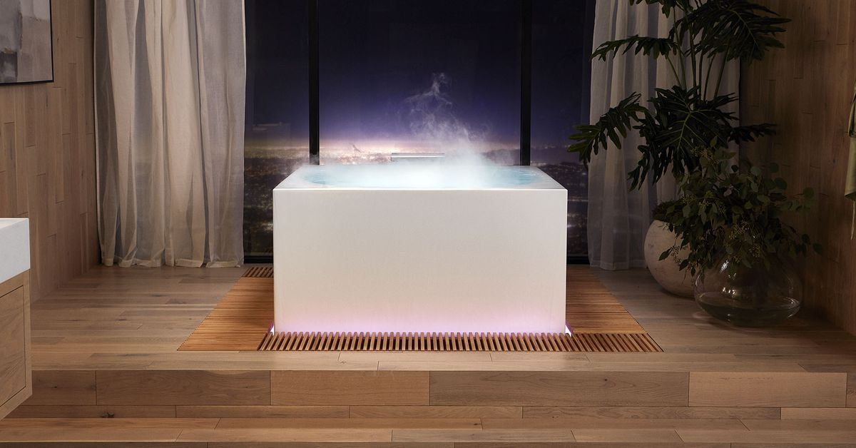 I hope to someday sit in Kohler's new voice-activated smart bath
