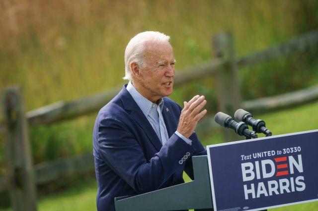 Presidential Candidate Joe Biden Campaigns In Wilmington, Delaware