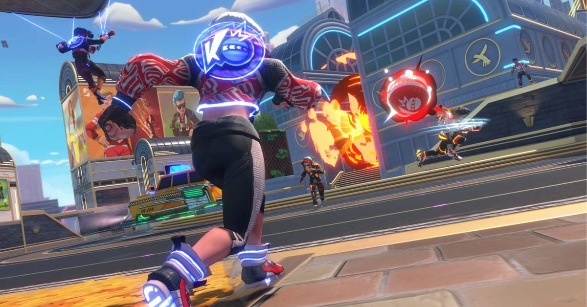 Knockout City's virtual dodgeball is even more chaotic than the real thing