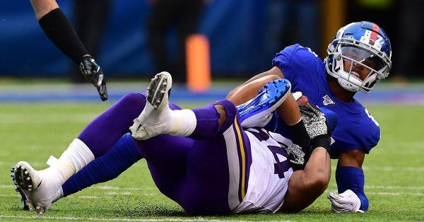 How to handle Sterling Shepard injury in Week 6 fantasy football