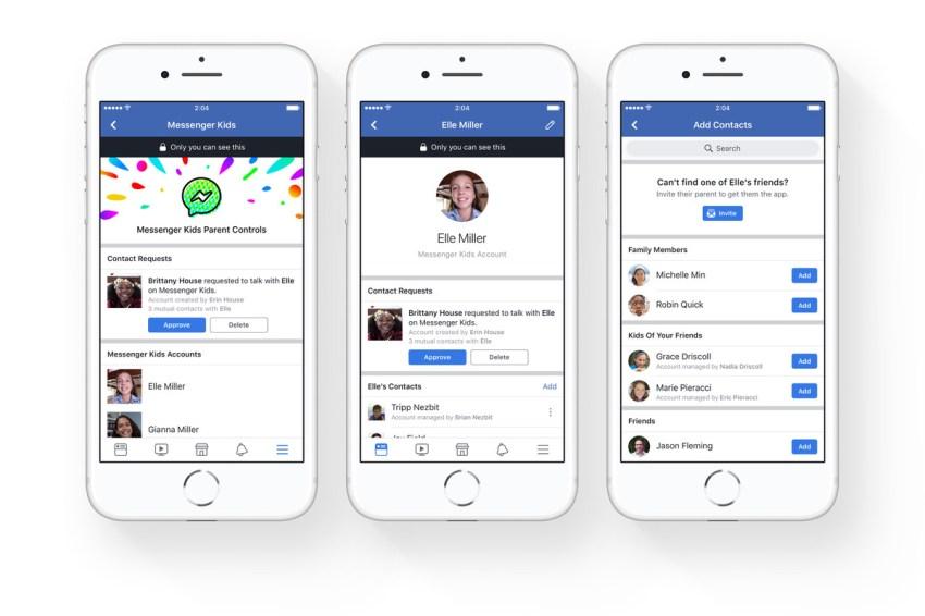 Image result for Facebook New Messenger App