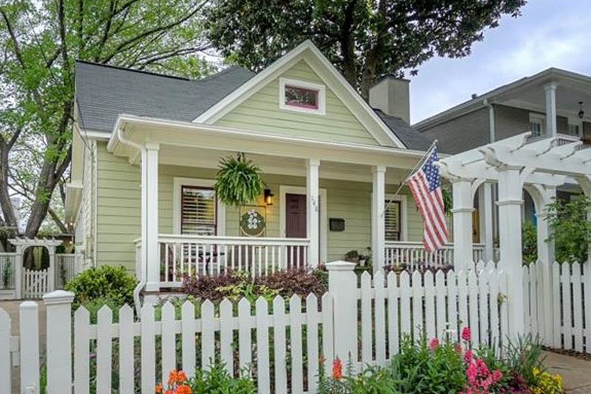 Picturesque Old Fourth Ward Cottage Hopes To Fetch $730K