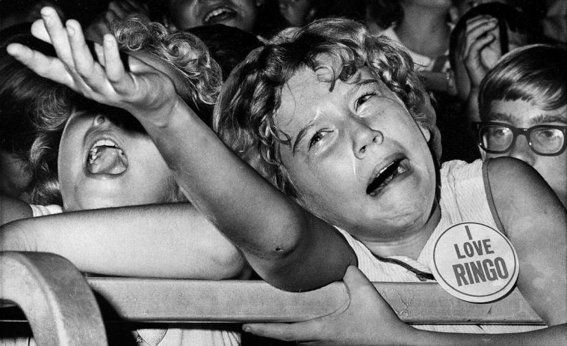 Image result for screaming fans 1950s