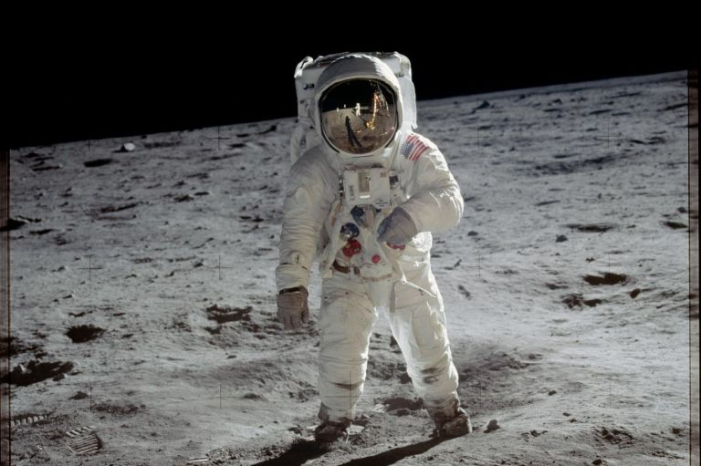 <em>Buzz Aldrin on the surface of the Moon. Only men have ever landed on the lunar surface, but NASA wants to change that.</em>