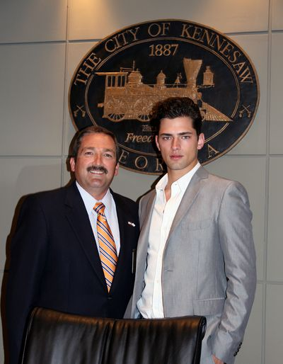 Sean O'Pry Honored By The City Of Kennesaw, Georgia
