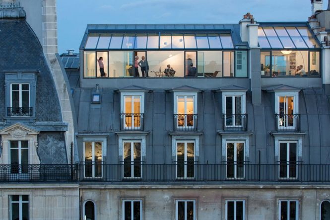 Paris Apartments Modern And Airy Used To Be A 19th Century Photo Studio